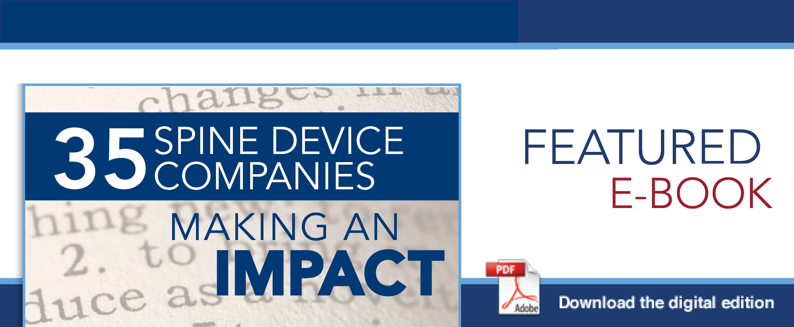 35 Spine Device Companies Making an Impact