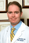 Dr. Sean McCance, co-director of spine surgery at Mount Sinai Hospital