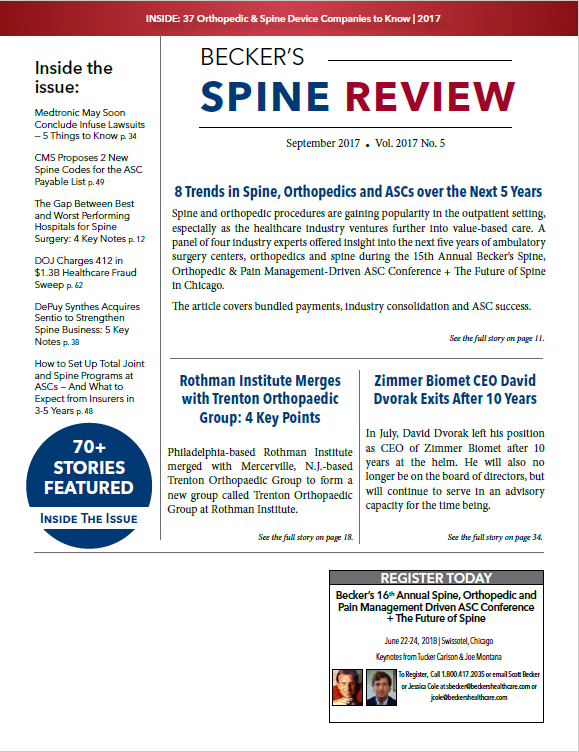 Beckers Sept Spine Cover